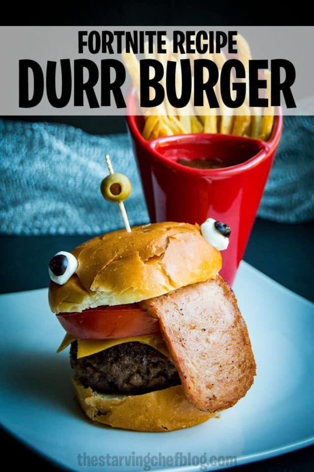 Fortnite Durr Burger Party Food