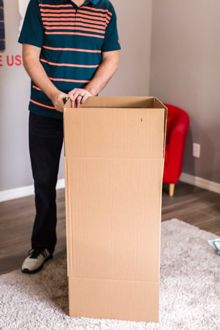 How to Make a Cardboard Box Fort