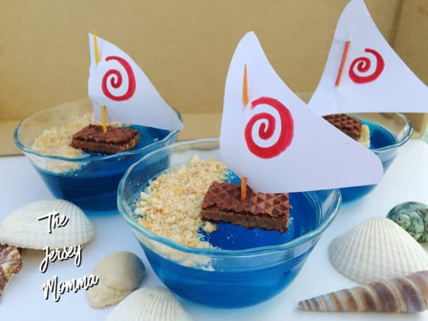 Moana Jello Treats by The Jersey Momma | The Best Moana Birthday Party Ideas