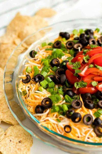 seven layer dish recipe