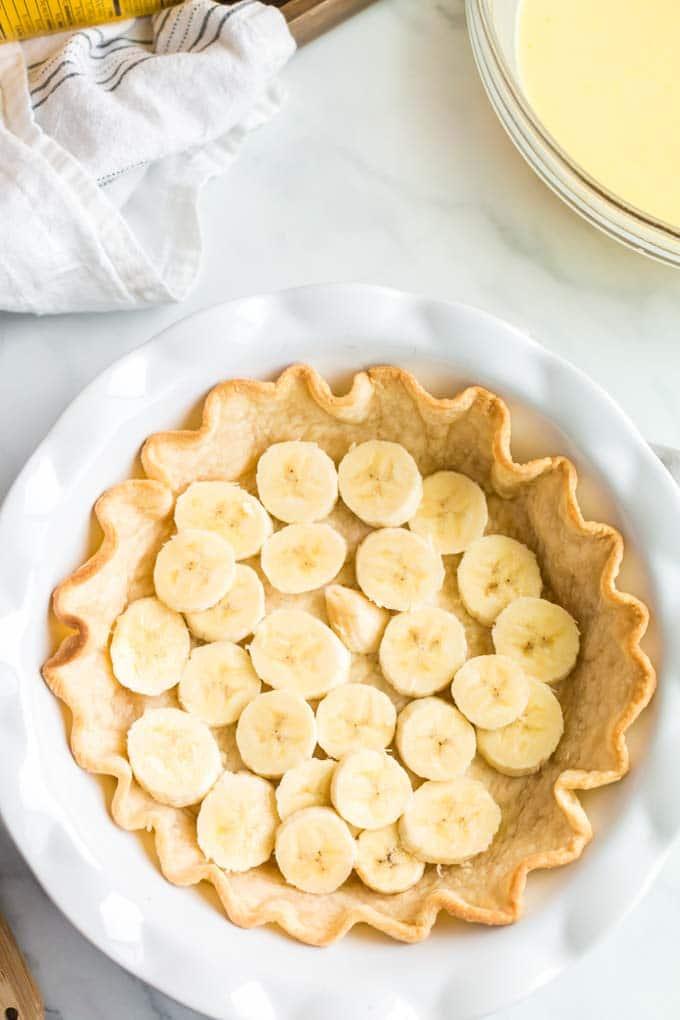 How to Make Banana Pudding Pie