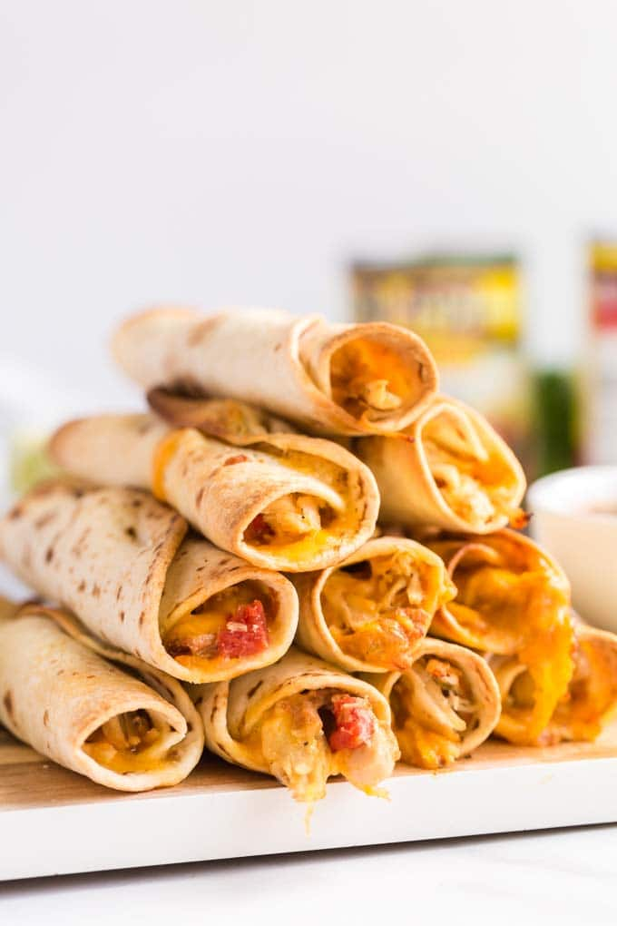 Spicy Rolled Tacos
