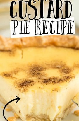 CUSTARD PIE PINTEREST