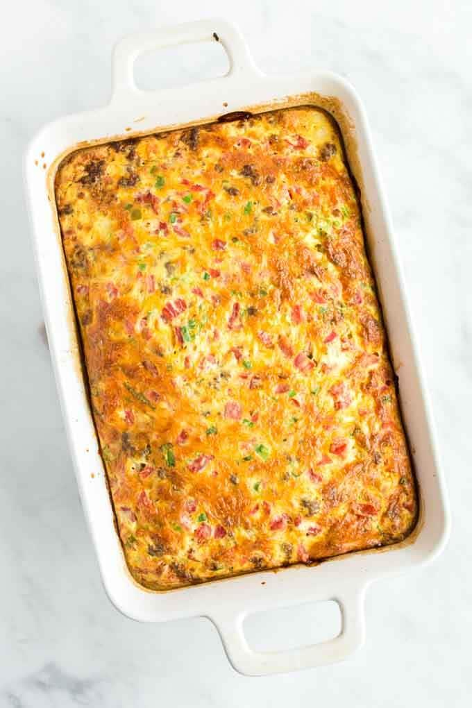 Easy Sausage Breakfast Bake
