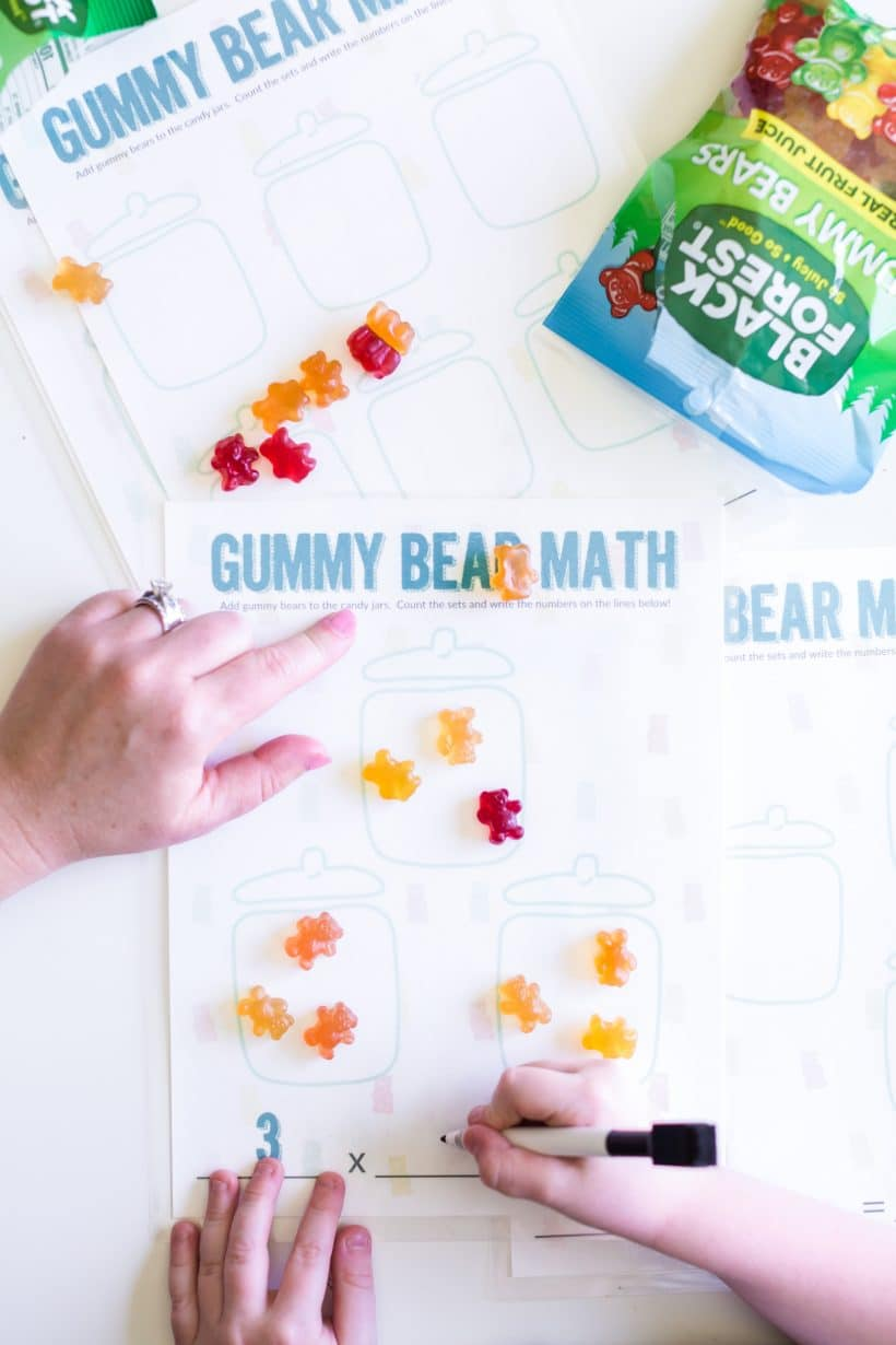 Gummy Bear Math