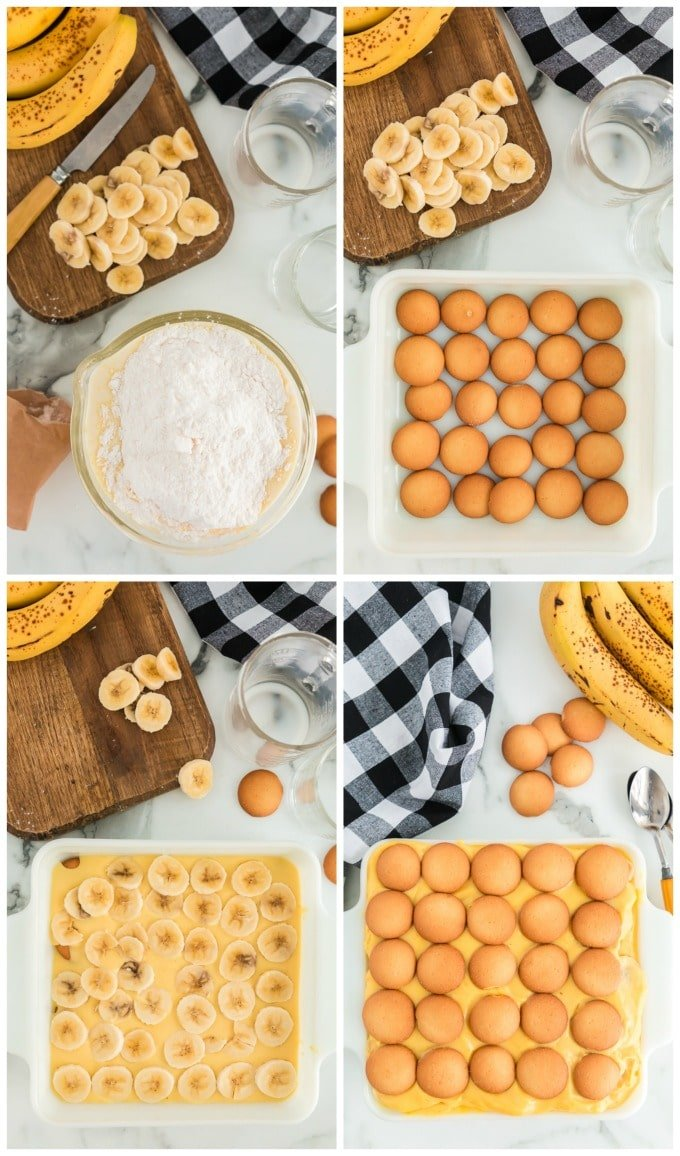 How to Make Banana Pudding