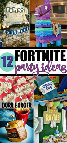 12 of the Best Fortnite Birthday Party Ideas - Spaceships
