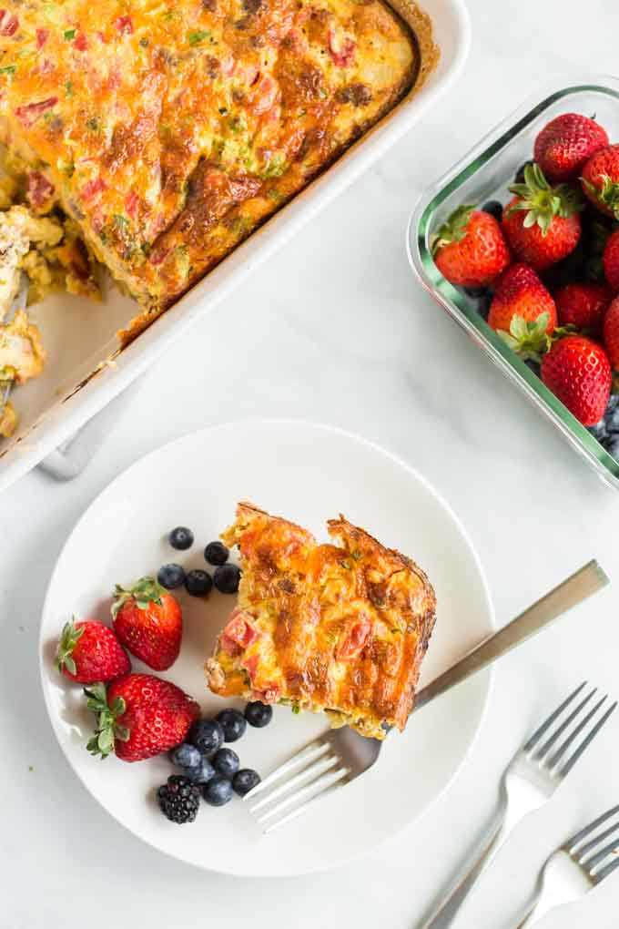 What to Serve with Sausage Breakfast Bake