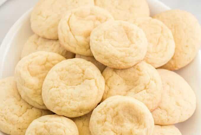 Best Lemon Sugar Cookies