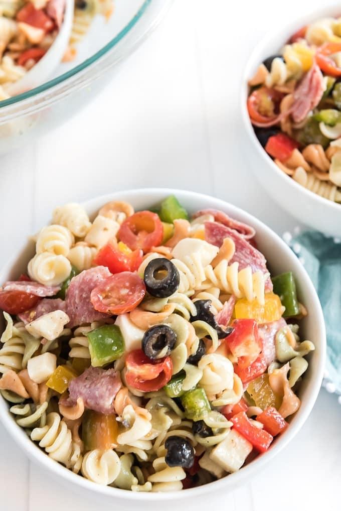 Favorite Italian Pasta Salad