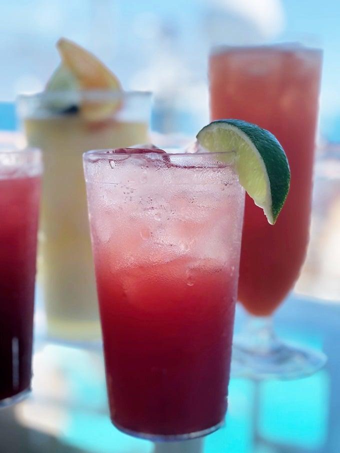Caribbean Princess Drinks