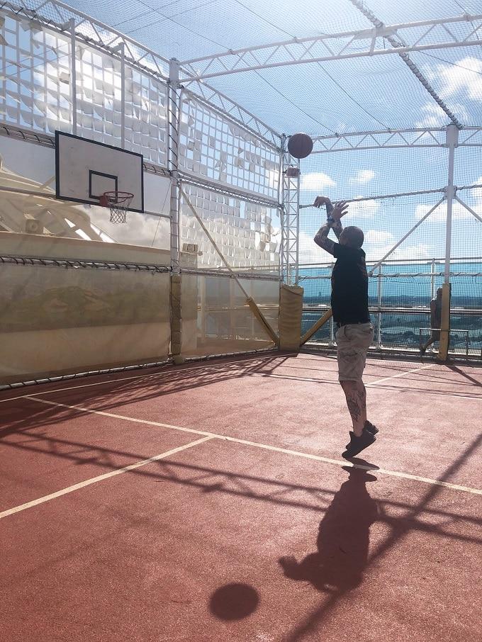 Caribbean Princess Sports Deck