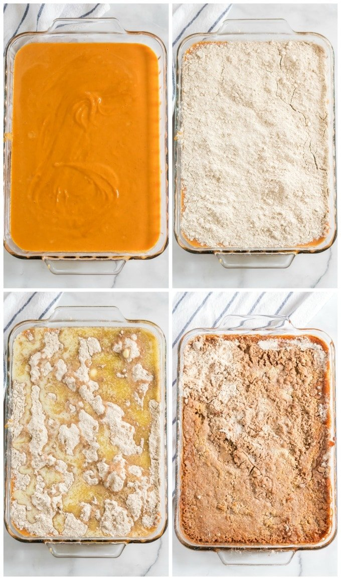 How to Bake Pumpkin Dump Cake