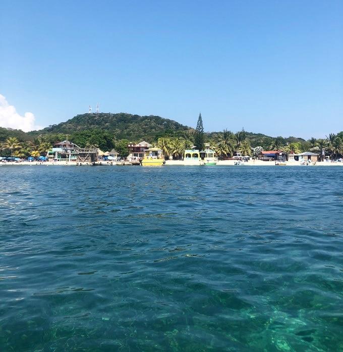 Roatan Honduras Coastline