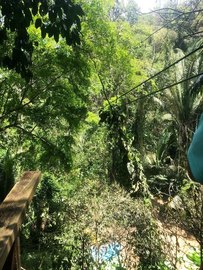 Zipline in Belize