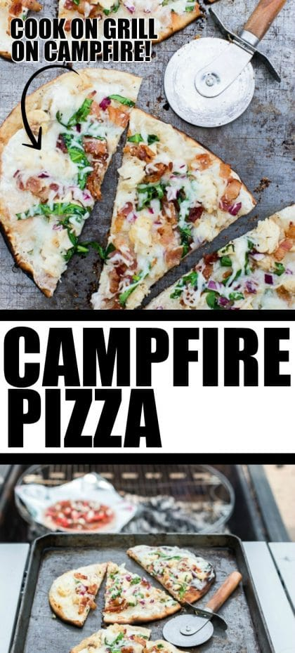 Campfire Pizza