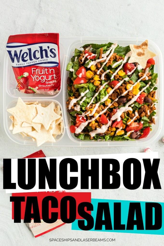 Lunchbox Taco Salad