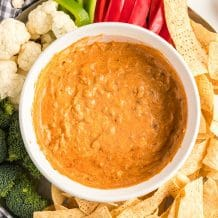 Chili Cream Cheese Dip Featured