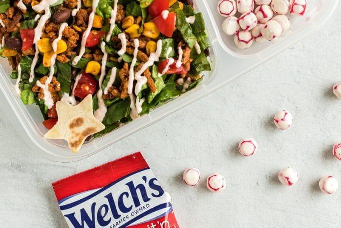 Taco Salad Recipe Featured