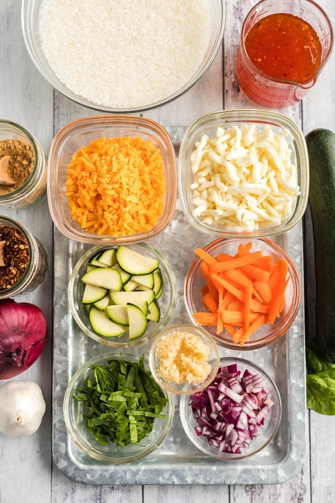 Thai Chicken Foil Packets Ingredients