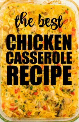 chicken casserole recipe pinterest