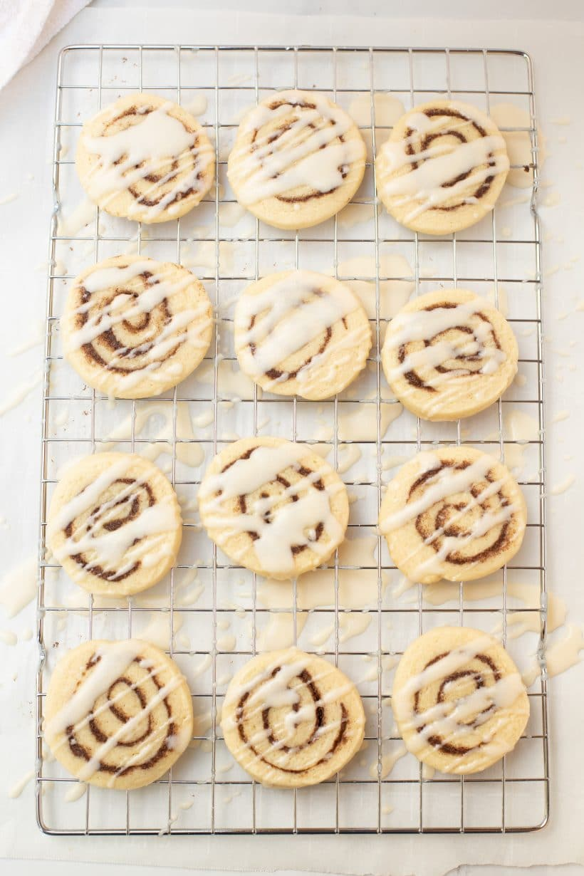 Cinnamon Roll Cookies Marble HR-18