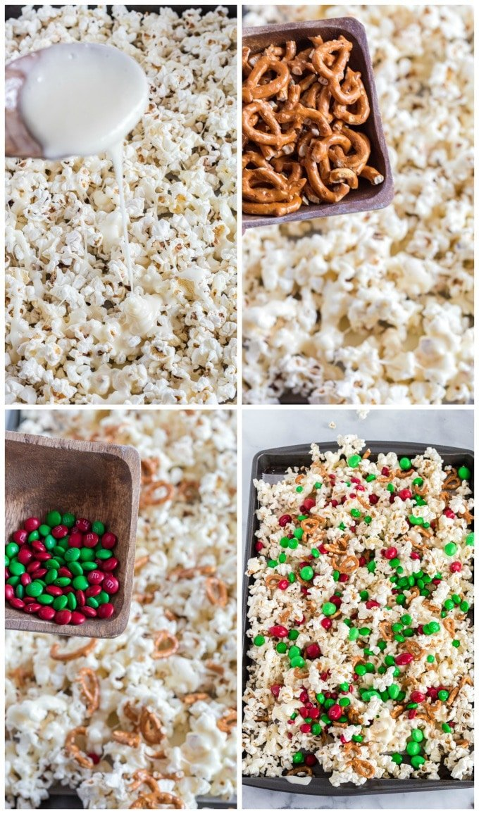 How to Make Christmas Crunch