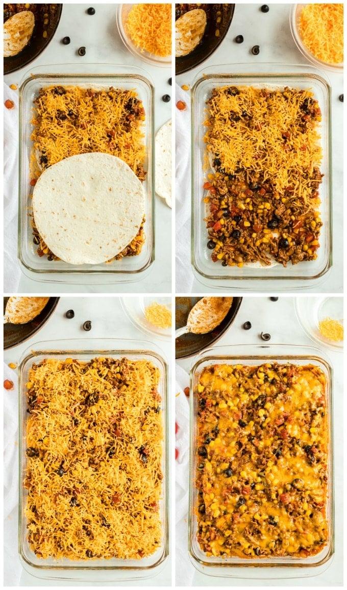 How to Make Taco Bake