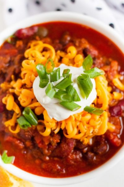 Instant Pot Chili Featured