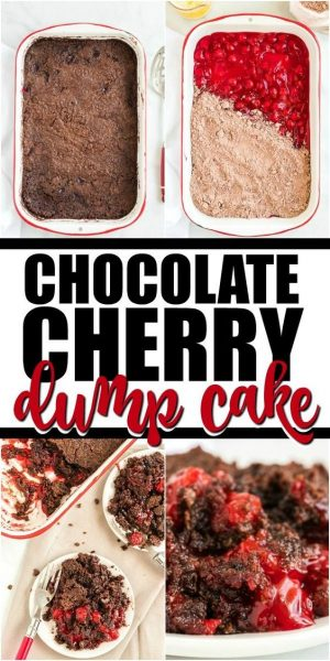 chocolate cherry dump cake pinterest