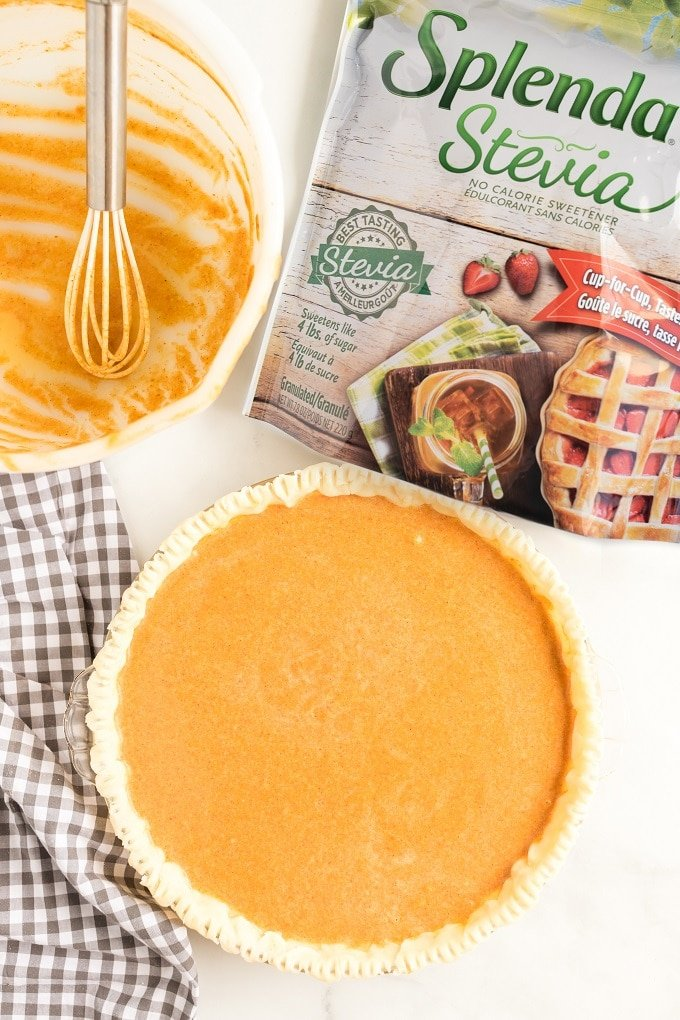 Best Ingredients for a Sugar Free Pumpkin Pie