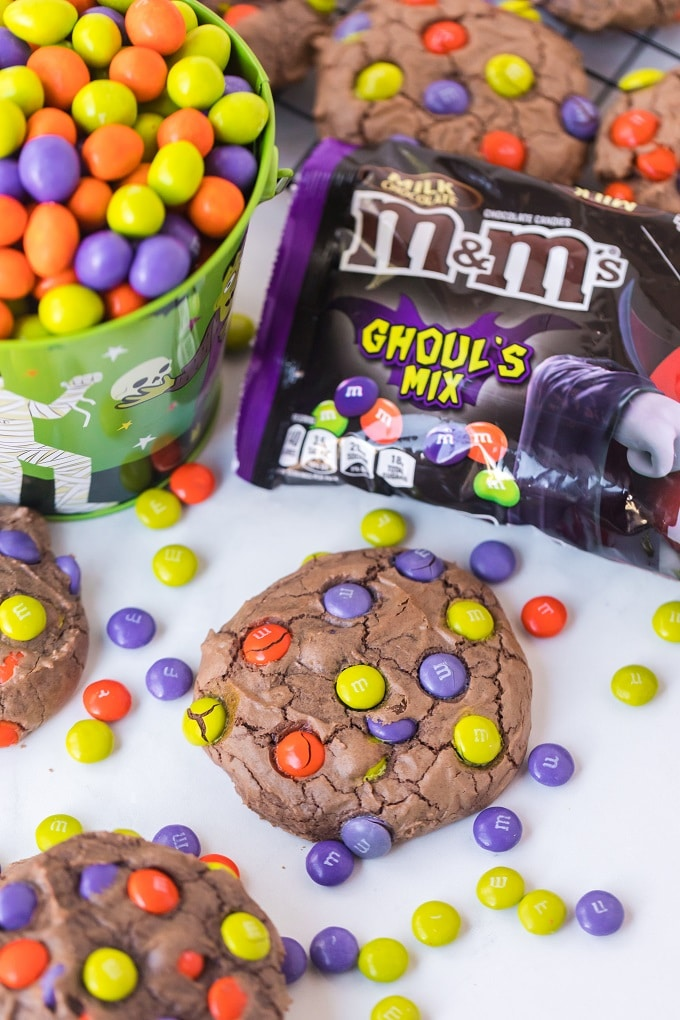 Best M&Ms Cookie Recipe for Halloween