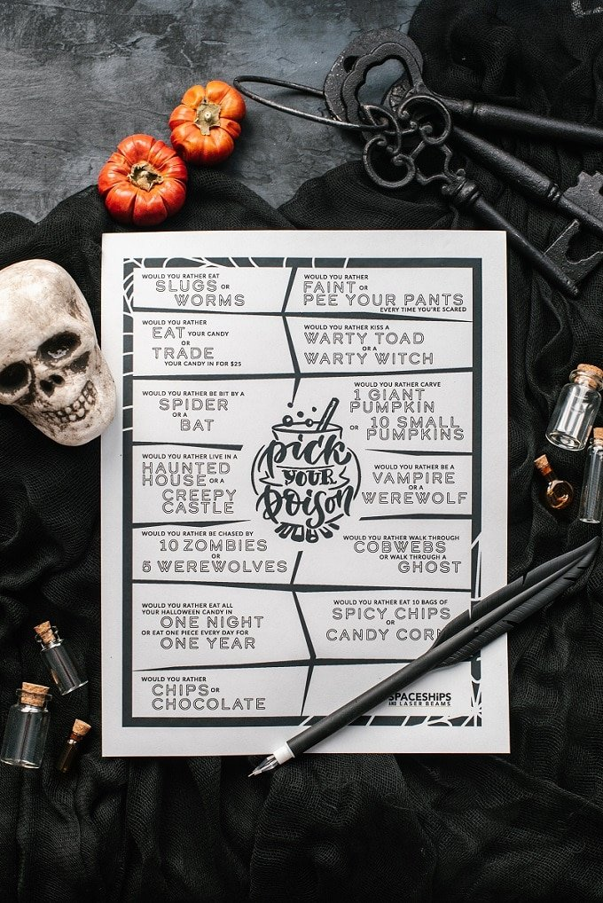 Free Halloween Printable Game
