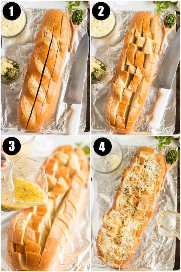 steps for making pull apart bread recipe