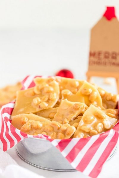 Best Microwave Peanut Brittle