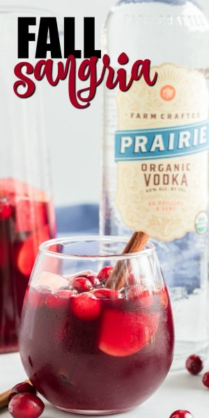Simple Fall Sangria Recipe Pin