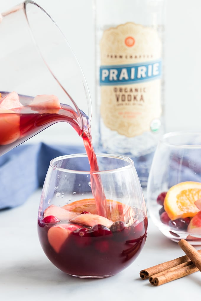 Favorite Fall Sangria