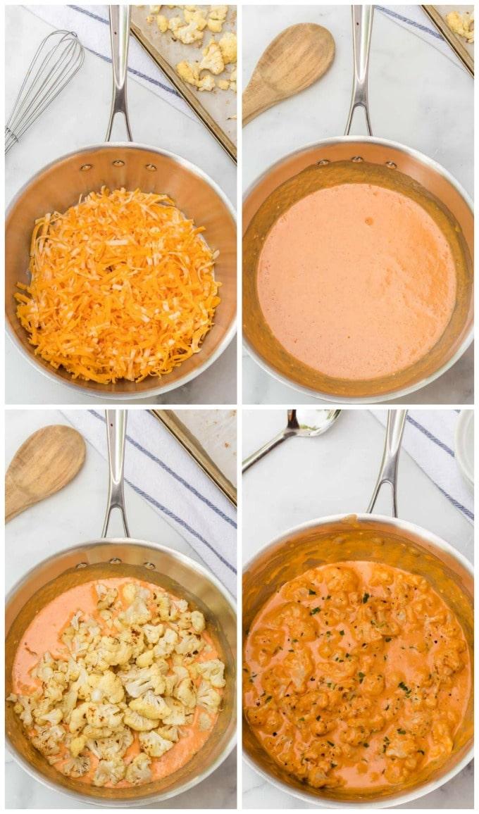 How to Make Cauliflower Mac and Cheese