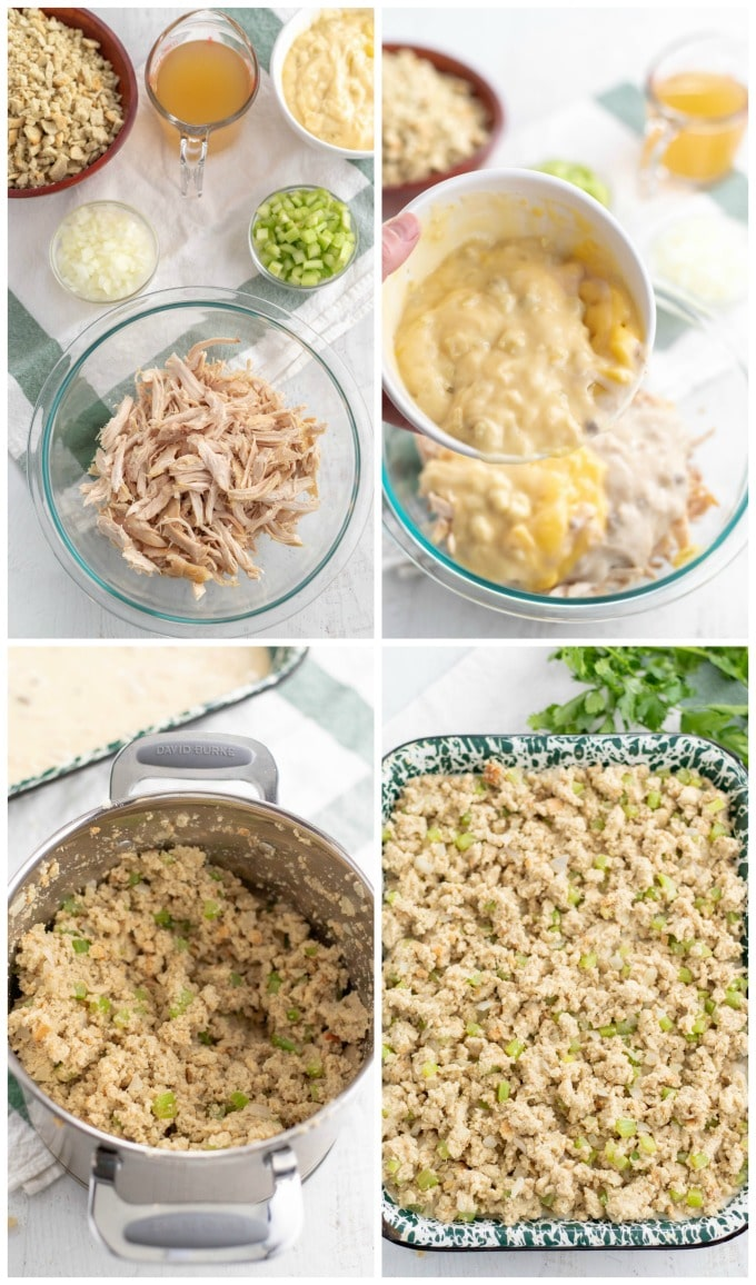 How to Make Chicken and Stuffing Casserole