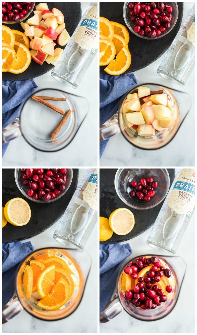 How to Make Homemade Fall Sangria