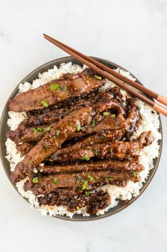 Mongolian Beef Featured