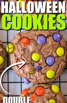 M&M'S Halloween Cookies