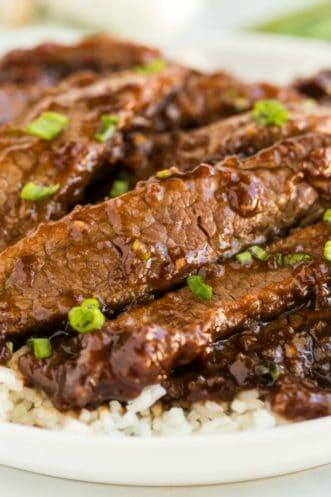 Mongolian Beef Featured