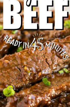 mongolian beef pinterest