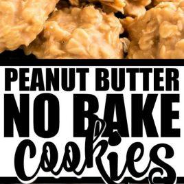 peanut butter no bake cookies pinterest