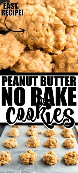 peanut butter no bake cookies pinterest