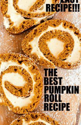 pumpkin roll pinterest pin