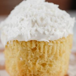 A close up of a piece of cake