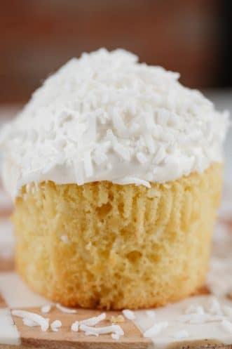 Coconut Cupcakes Featured