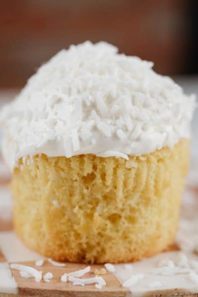Coconut Cupcakes Featured